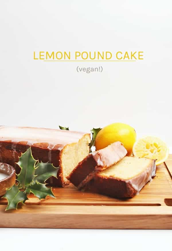 A Pound Cake that is so rich and decadent no one will believe it's vegan. It is topped with a lemony glaze for a delightful sweet morning or midday snack.