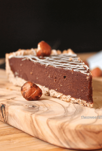 Vegan Chocolate Hazelnut Torte