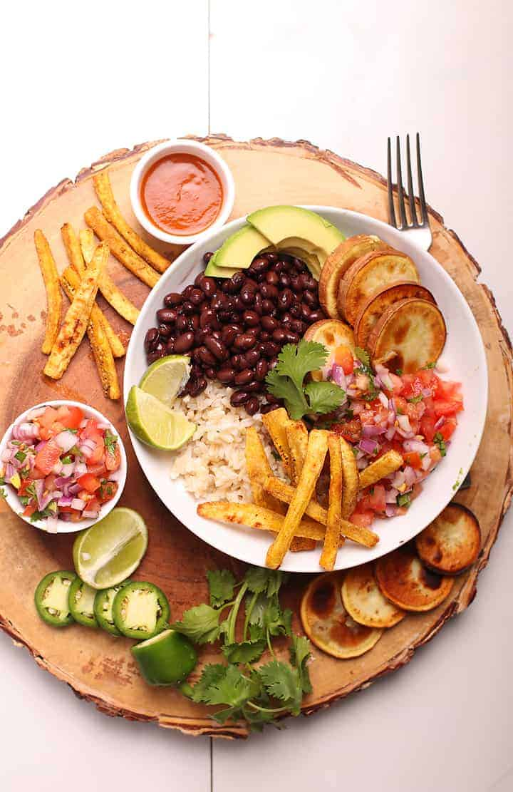 Cuban Black Beans Bowl