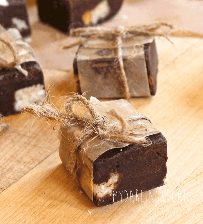 Vegan Almond Joy Fudge
