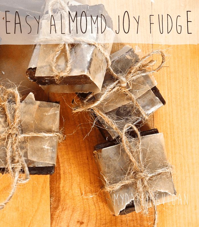 Vegan Almond Joy Fudge