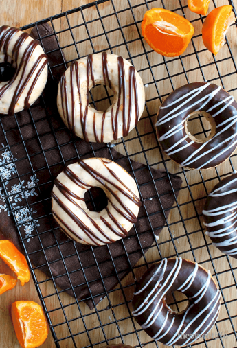Orange Poppy Seed Doughnuts