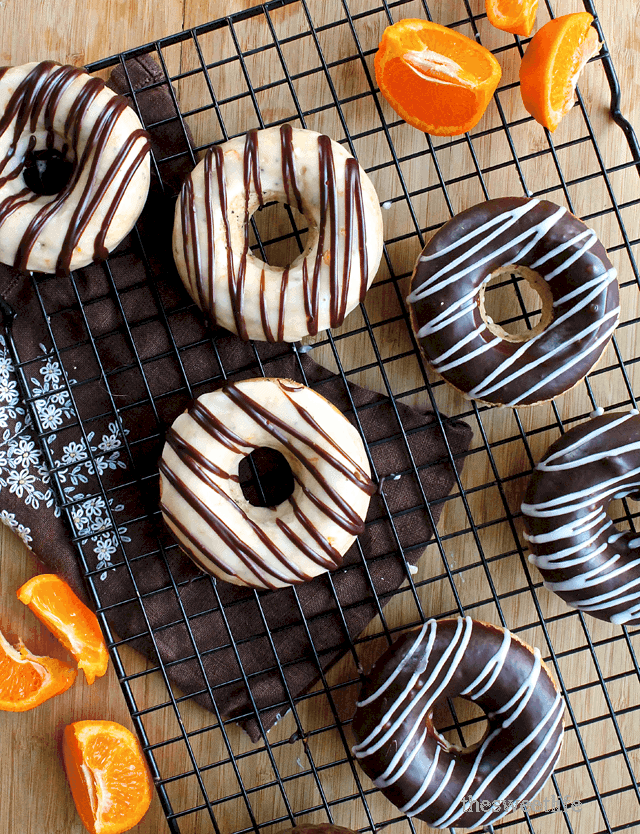Orange Doughnuts