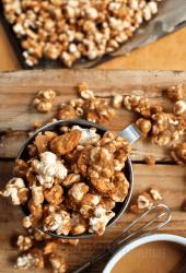 Peanut Butter Butterfingers Popcorn
