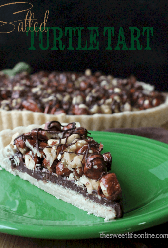 Salted Turtle Tart