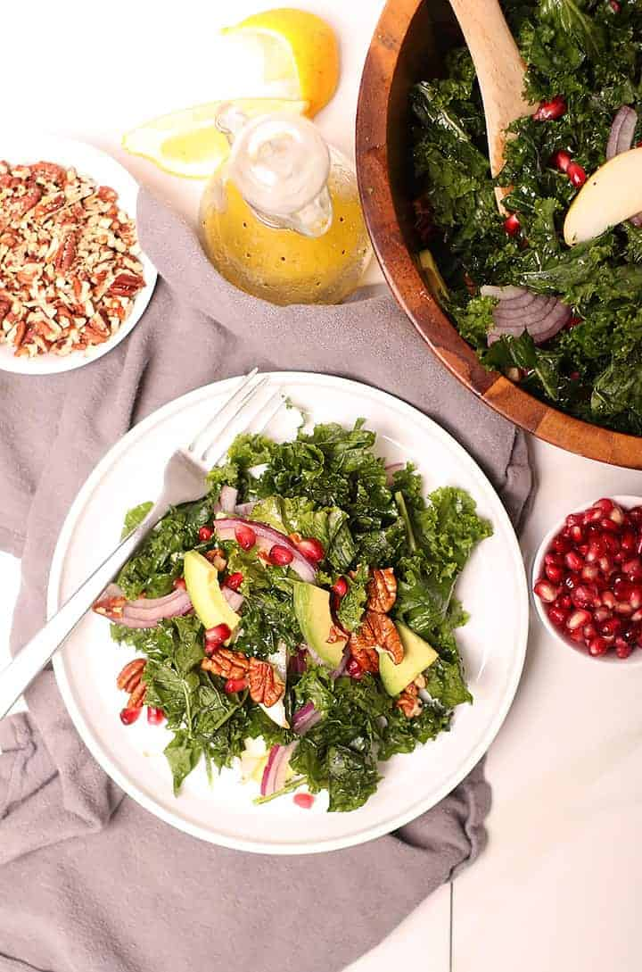 Massaged Kale Holiday Salad