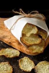 Baked Wasabi Potato Chips