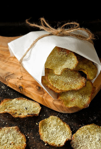 Baked Wasabi Potato Chips
