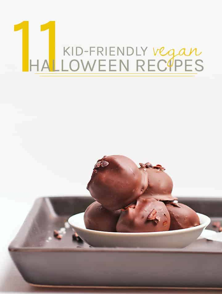 11 Freakishly delicious kid-friendly vegan Halloween candies. This roundup has it all. Sinfully sweet candies to no-sugar-added desserts and everything in between, making this Halloween the best one yet!