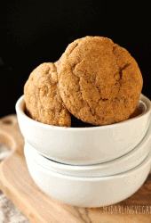 Pumpkin Snickerdoodles with Chai