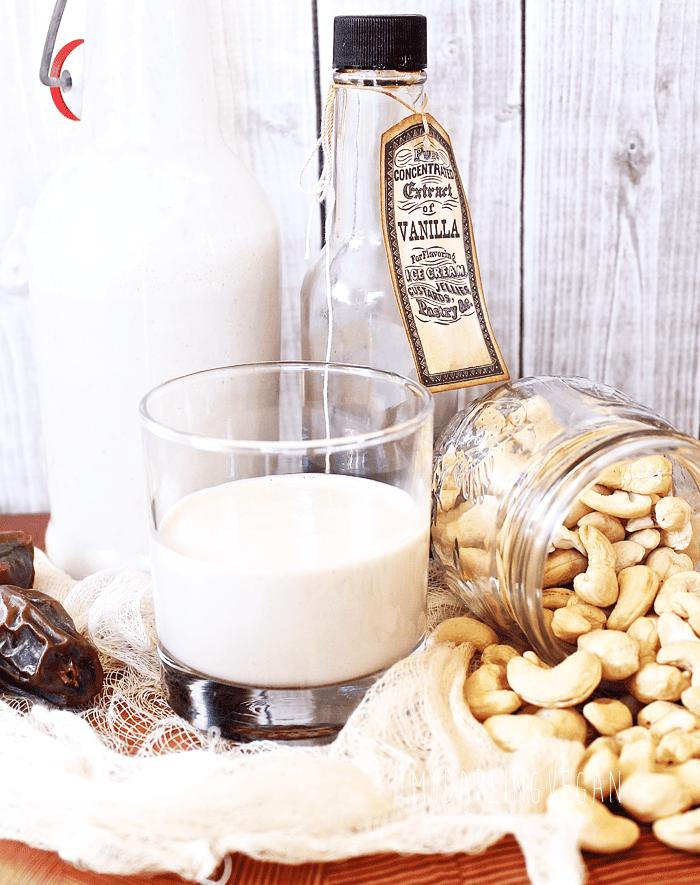 Homemade Cashew Milk