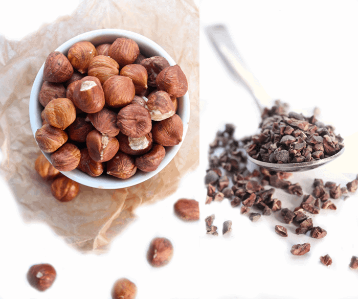 Hazelnuts and Cacao Nibs