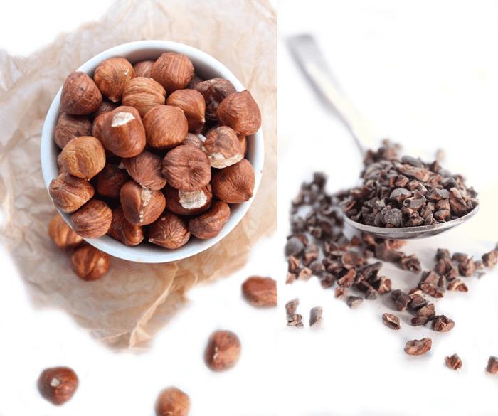 Hazelnuts and Cacao Nibs