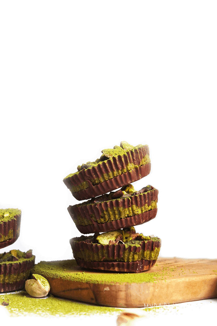 Chocolate Pistacho Cups