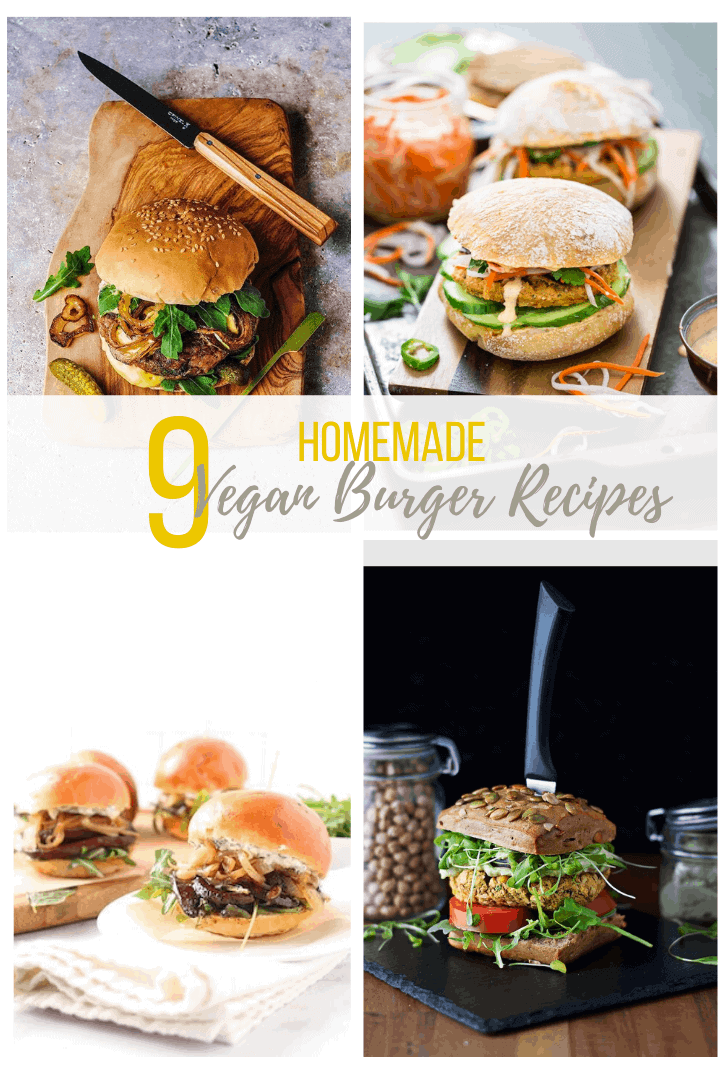 9 amazing vegan burger recipes that omnivores and herbivores alike will absolutely love. Add them to your summer BBQ and cookout menus today!