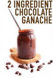 How to Make Vegan Chocolate Ganache