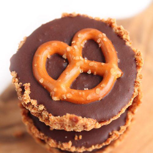 Chocolate Pretzel Tart