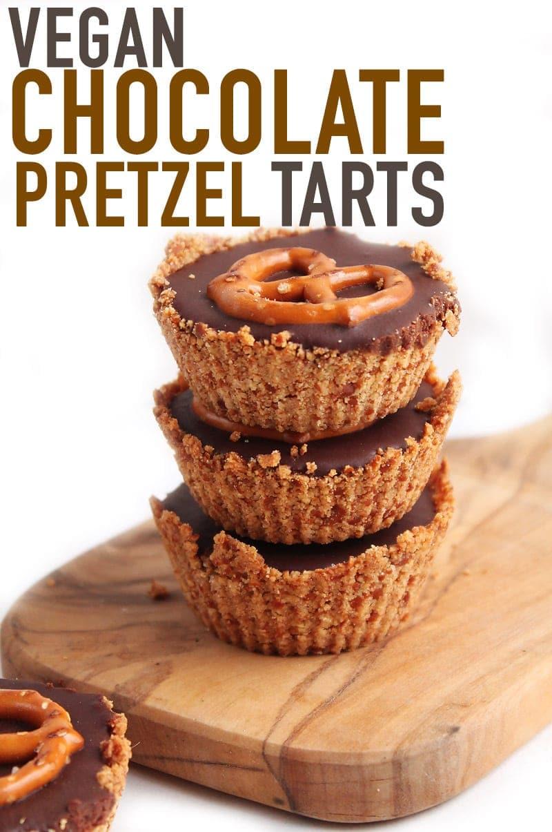Chocolate-Pretzel-Tart