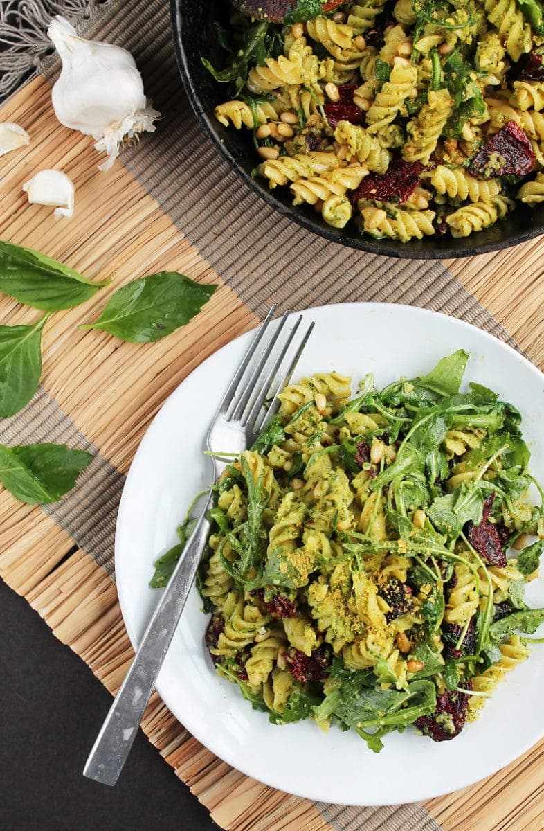 vegan pesto pasta5 1
