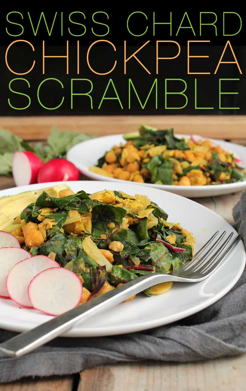 Chickpea Breakfast Scramble