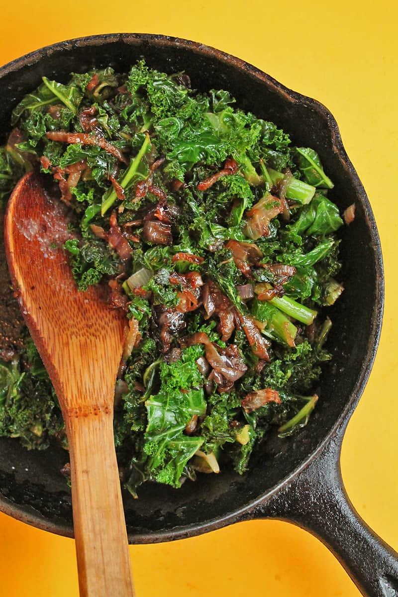 sautéd-kale-and-onions