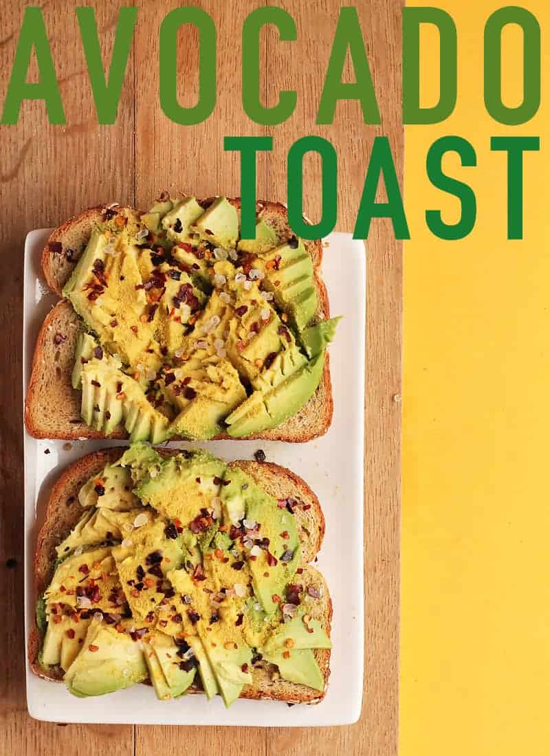A simple and satisfying breakfast or midday snack, this easy vegan Avocado Toast is my go to pick-me-up meal. #vegan #avocado #breakfast #avocadotoast #easyrecipes #mydarlingvegan