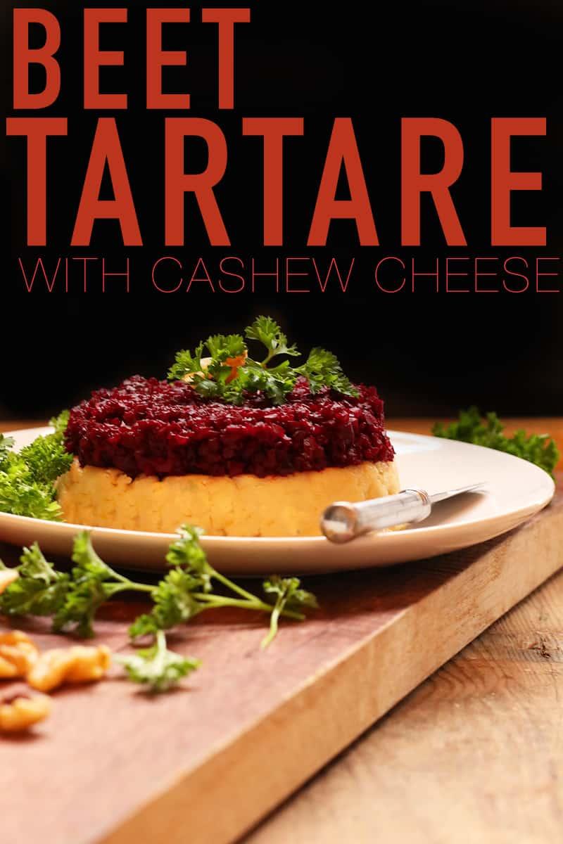 Beet Tartare with Cashew Cream