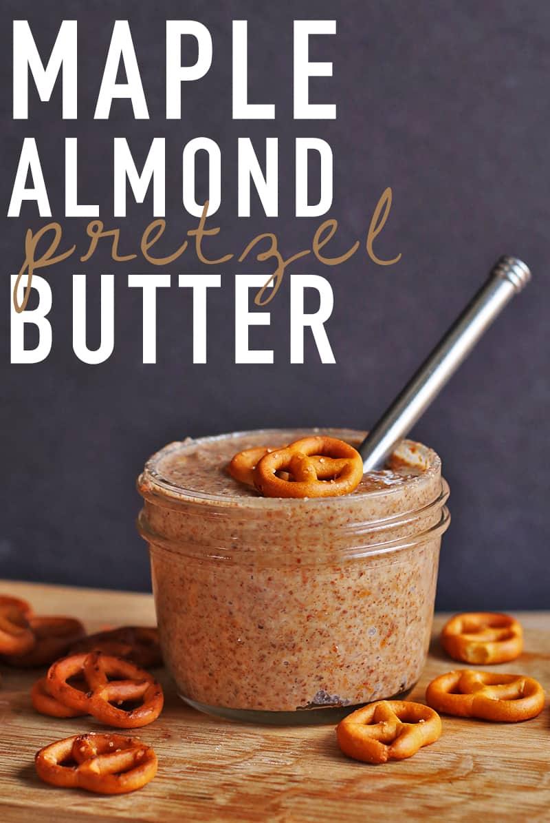 Almond Pretzel Butter