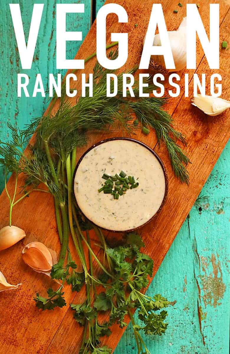Homemade Vegan Ranch Dressing My Darling Vegan