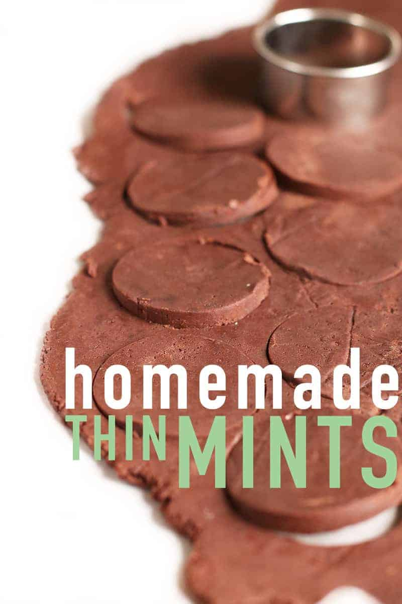 Homemade Thin Mints