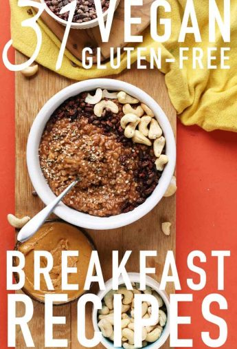 31 Gluten Free Vegan Breakfast Recipes
