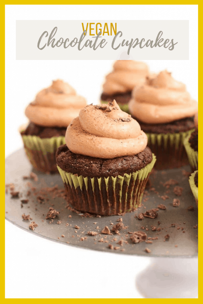 These vegan chocolate cupcakes are rich and moist then topped with silky smooth buttercream for the perfect celebratory treat everyone will love.