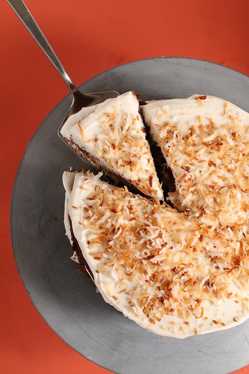 Vegan Gluten-Free Carrot Cake
