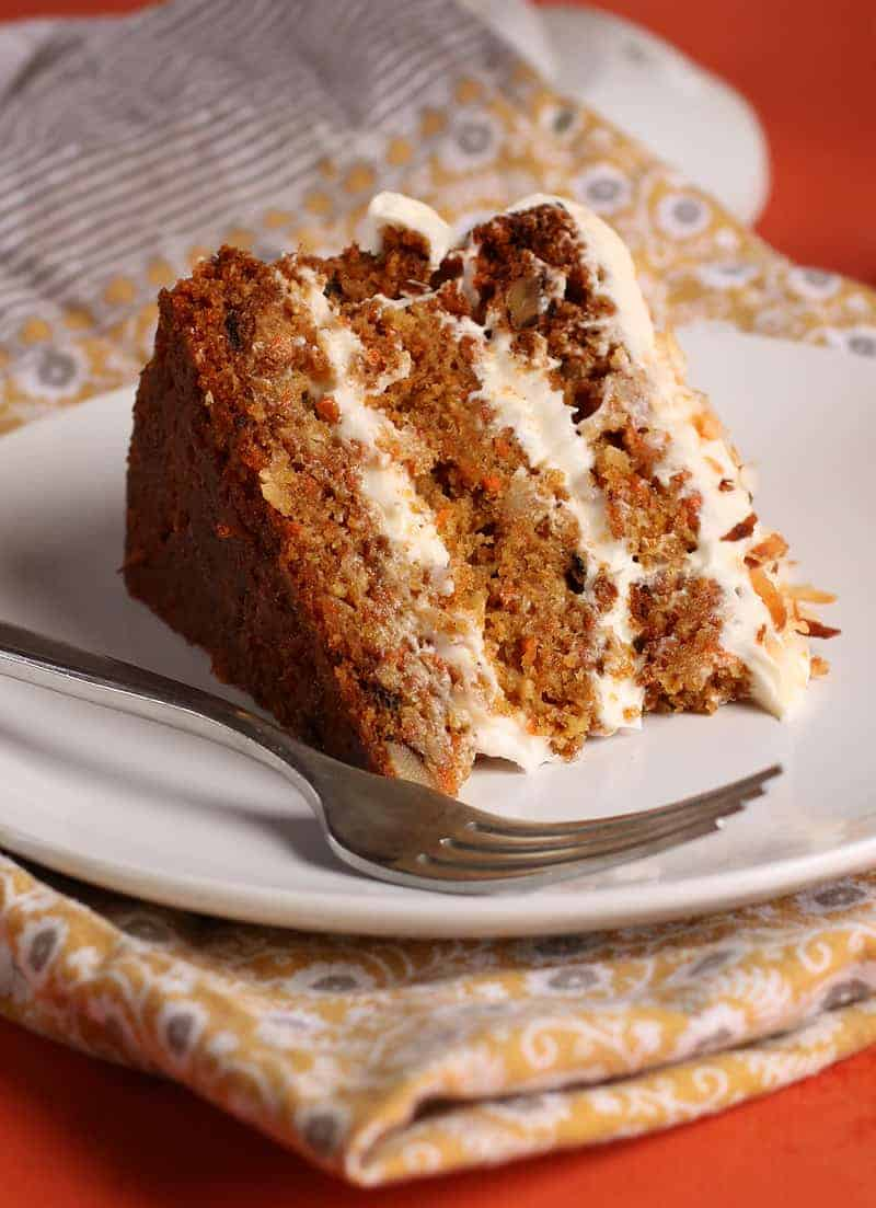 Vegan Carrot Cake Recipe No Sugar