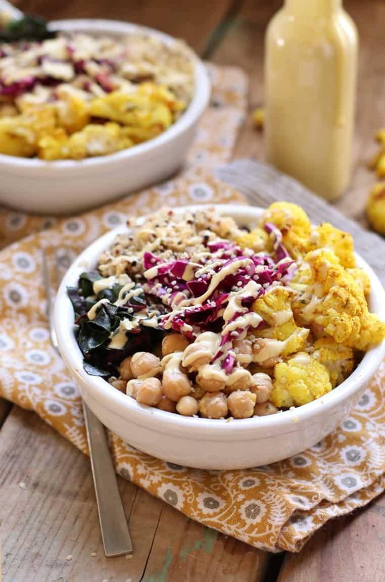 Cauliflower Buddha Bowls