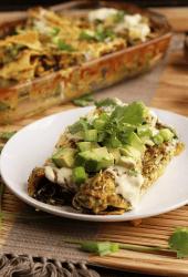 Vegan Enchiladas Verde