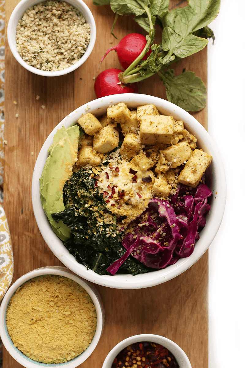 Tofu Breakfast Bowl