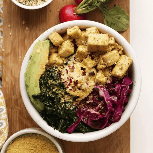 Tofu Breakfast Bowl