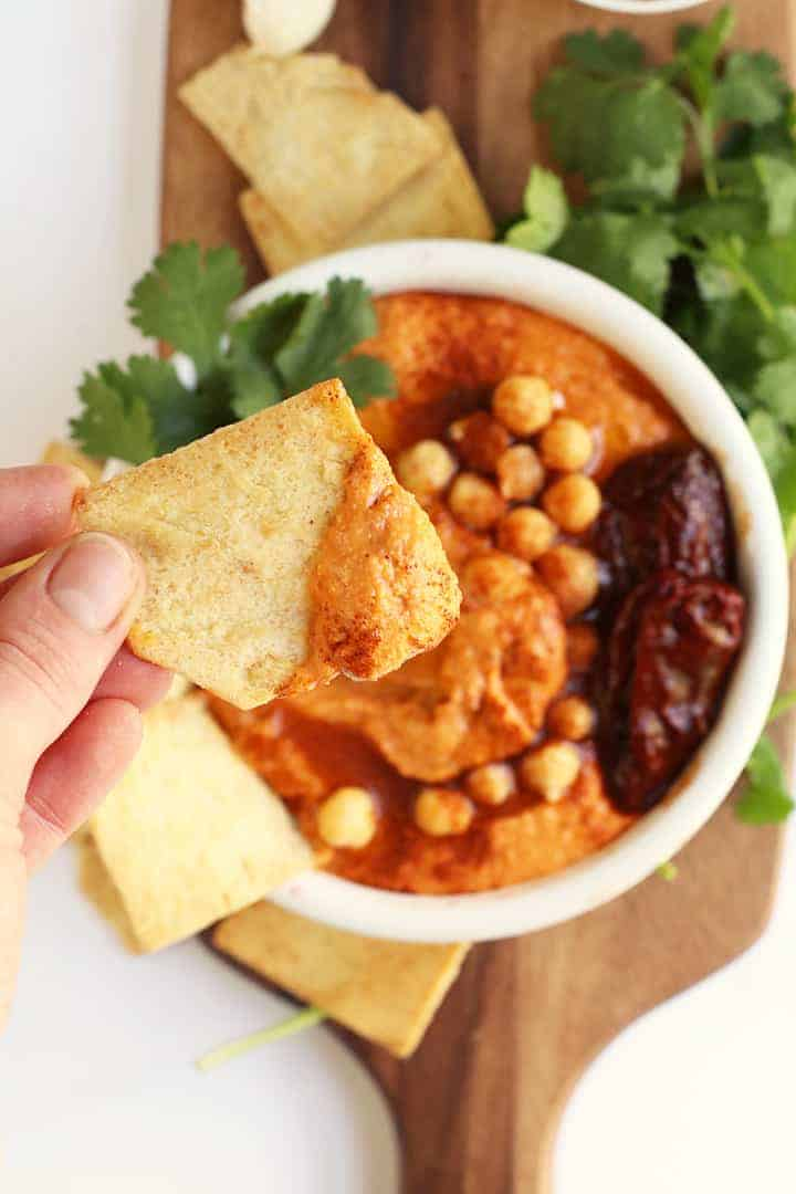 Spicy Chipotle Hummus