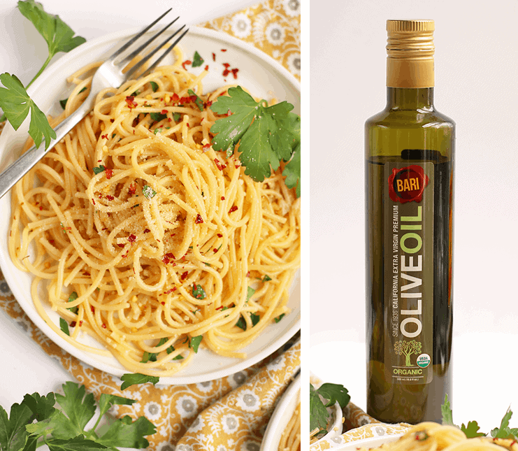 Spaghetti with Olive Oil and Garlic
