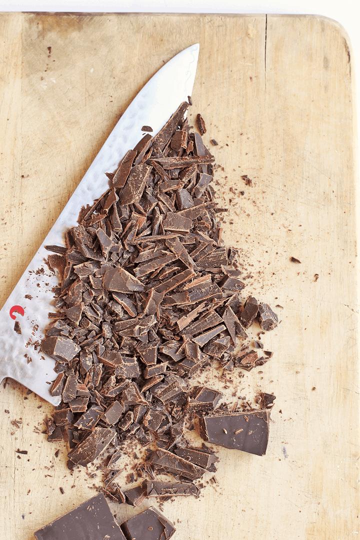 Salted Chocolate Sorbet
