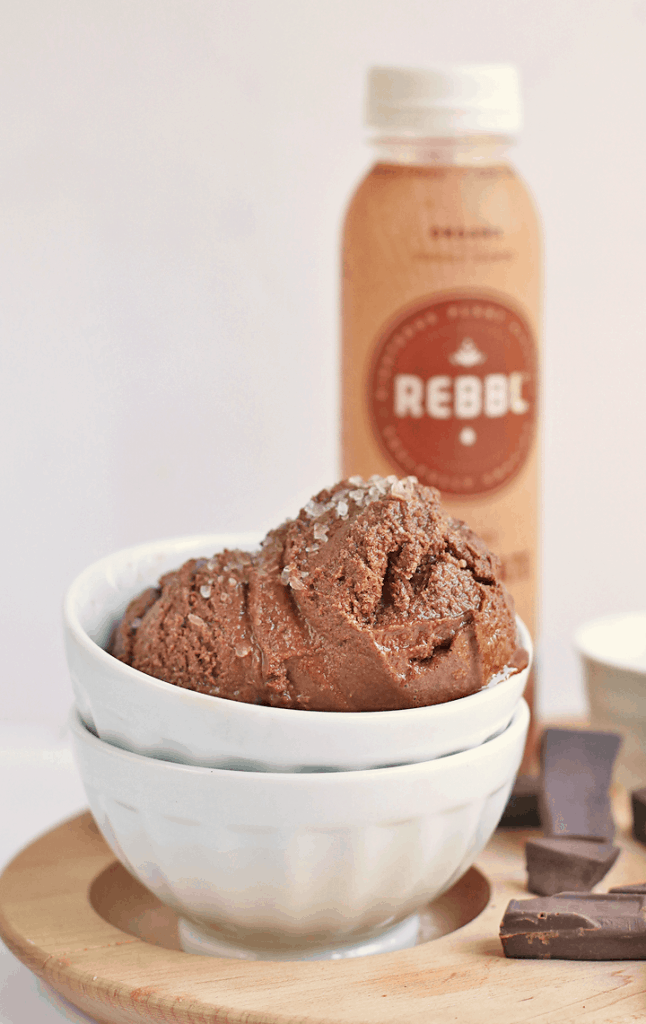 Salted Chocolate Sorbet