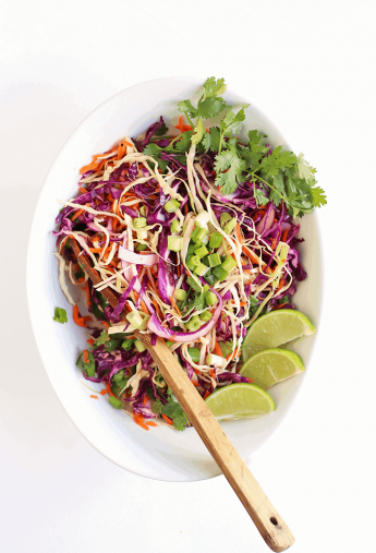 Cilantro Lime Cabbage Salad