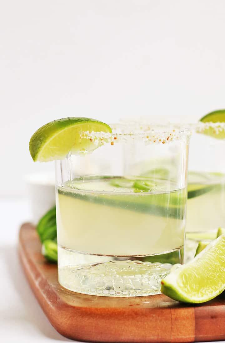 Jalapeño Cucumber Margaritas