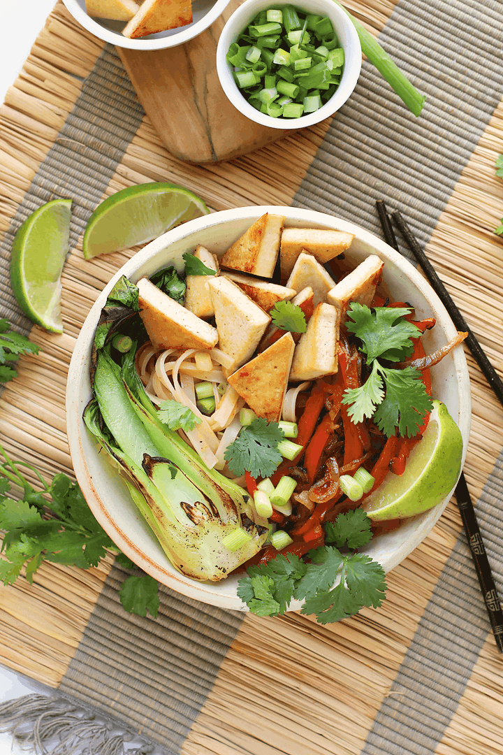 Vegan Thai Red Curry Bowl