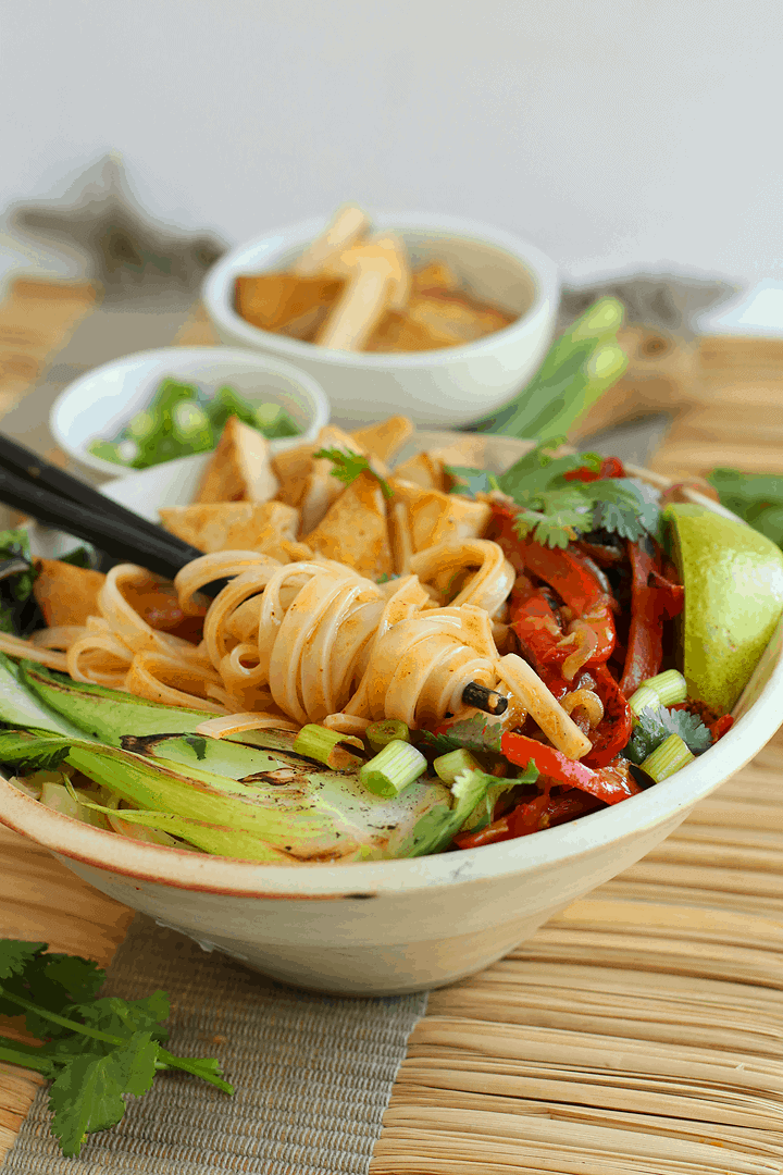 Red Thai Curry Bowl