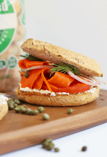 Vegan Bagel & Lox