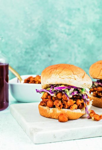 BBQ Chickpea Sliders