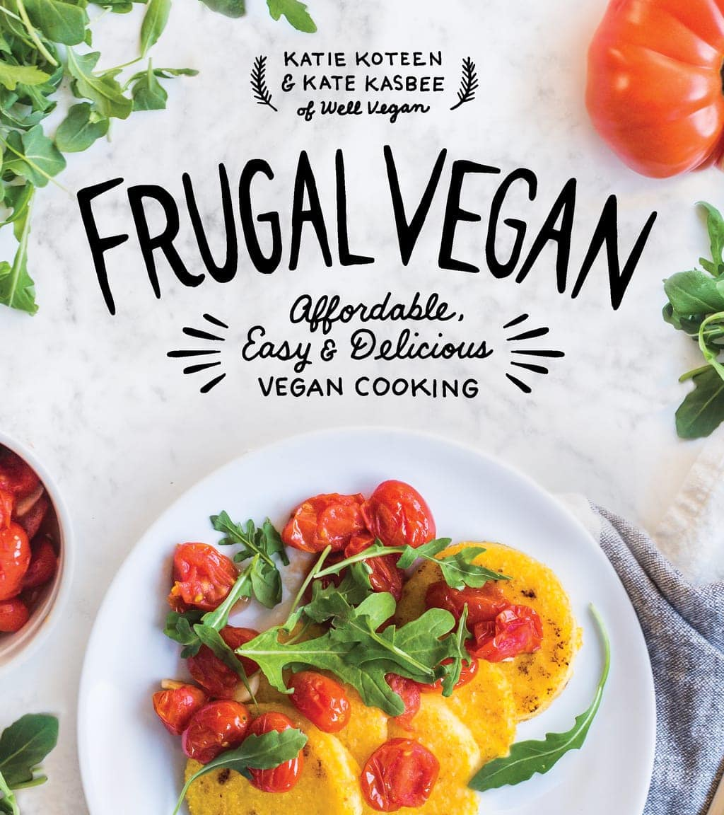 Frugal Vegan Cookbook Cover