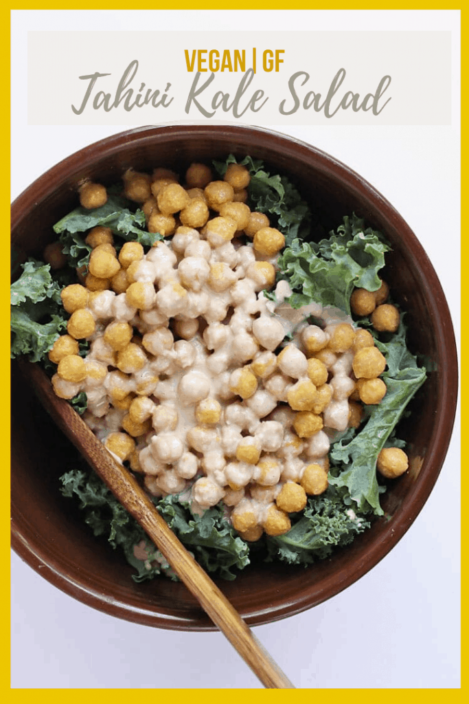 Everyone loves this Kale Salad with Cheesy Chickpeas and Lemon Tahini Dressing. It is light, refreshing, creamy, and nutrient packed. The perfect salad to pair with all your summertime potlucks.